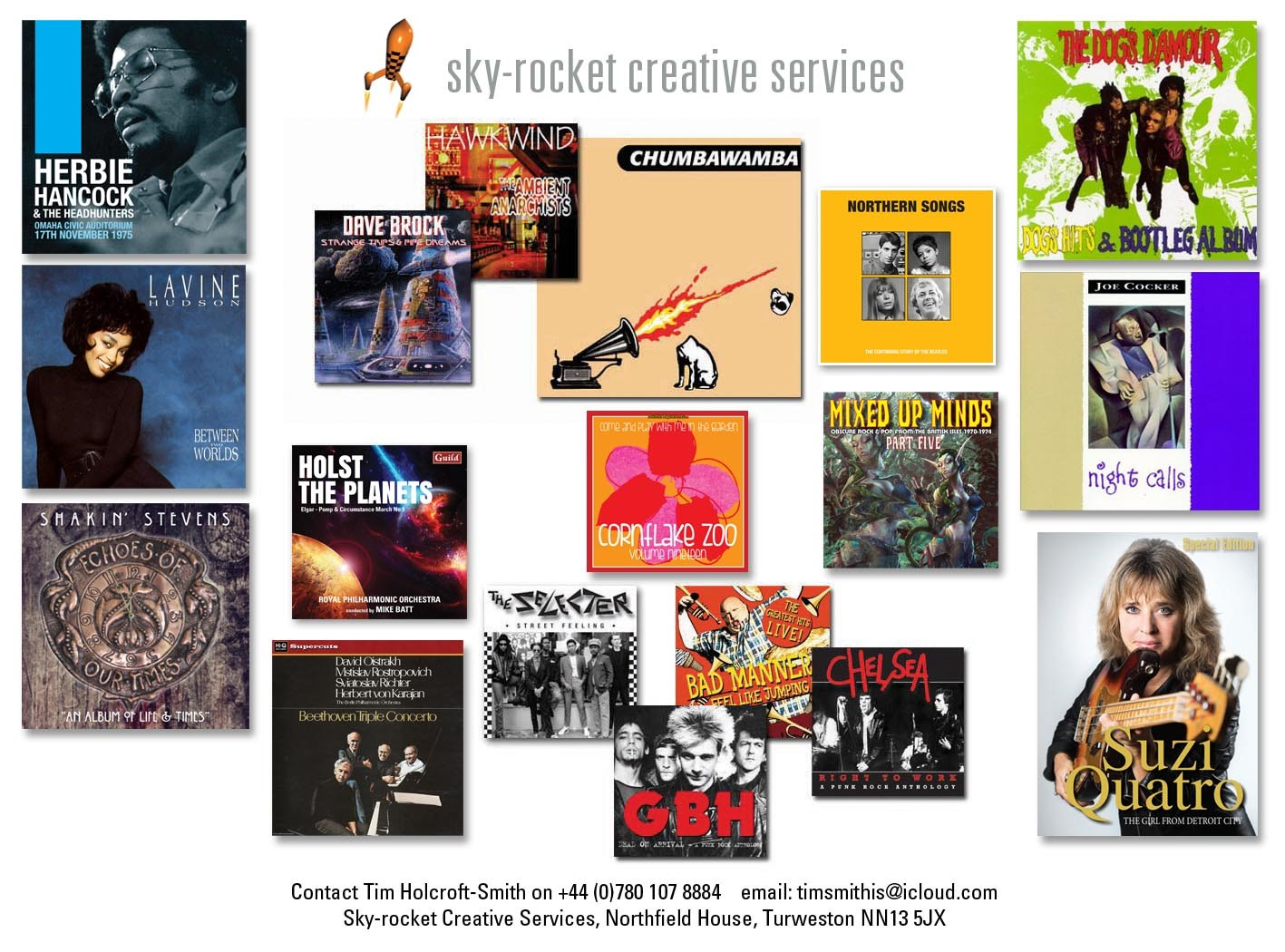 Tim Holcroft-Smith - Sky-Rocket Creative - Mobile: +44 (0)7801 078 884